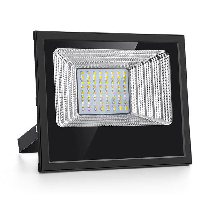 100w solar led flood light