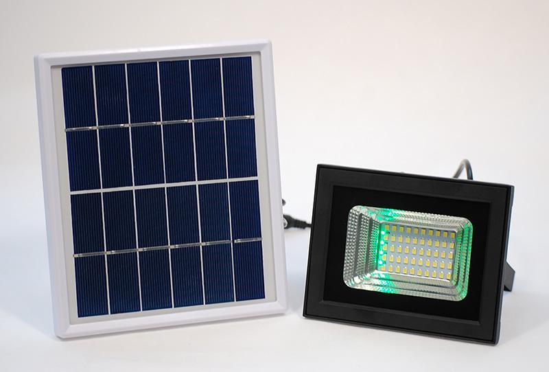 L400花园电量显示太阳能投光灯--普通版